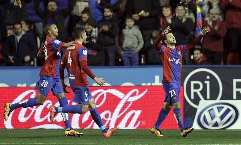 Rossi a festejar o seu segundo golo na Liga BBVA que aconteceu na passada 6ªfeira perante o Getafe CF Fonte: Liga BBVA