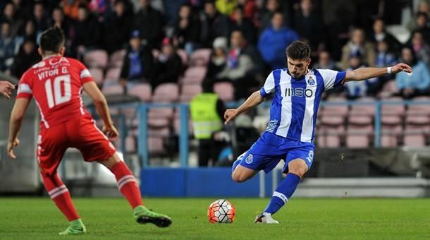 O FC Porto esteve em bom plano em Barcelos Fonte: FC Porto
