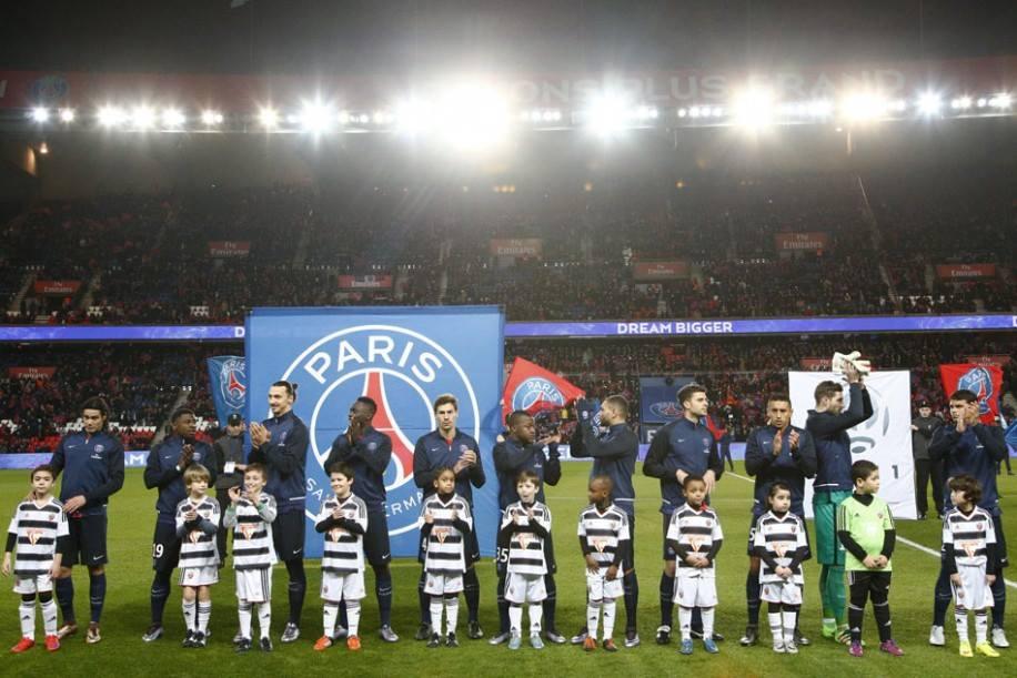 Tarefa fácil para a turma de Laurent Blanc no campeonato francês Fonte: PSG