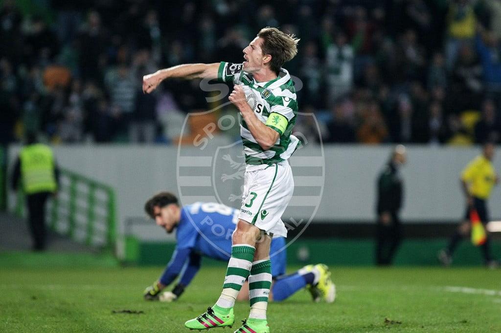 "Adrien Silva, o ""motor"" do meio campo verde e branco Fonte: Sporting CP"