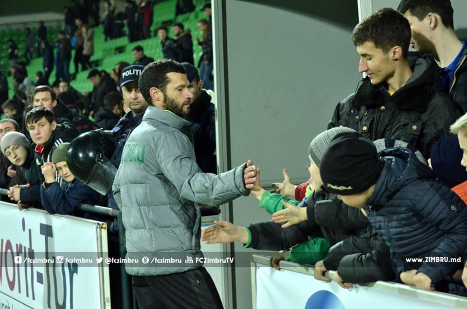 Simão Freitas, o novo timoneiro ao leme do FC Zimbru Chisinau Fonte: FC Zimbru Chisinau