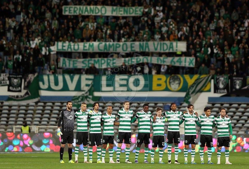 Estes nunca deixarão de acreditar Fonte: Sporting CP
