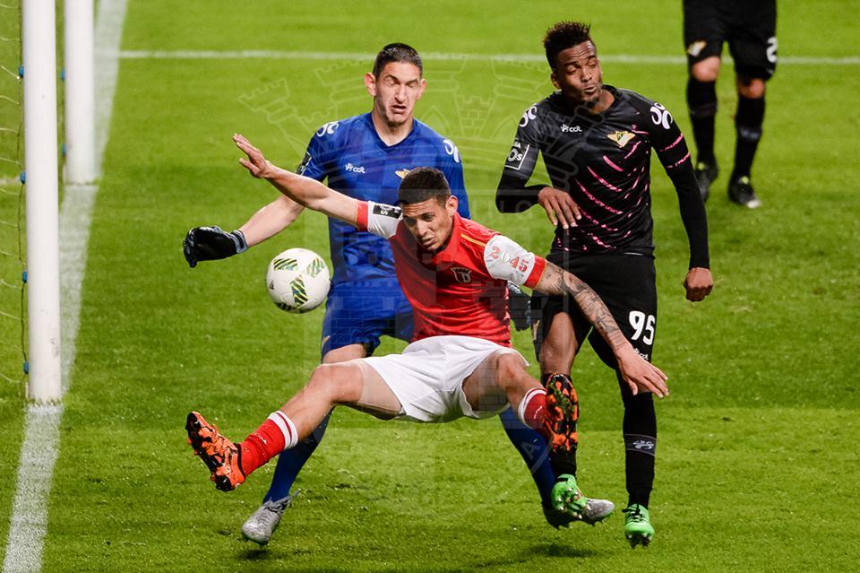 O guardião foi o melhor em campo Fonte: SC Braga