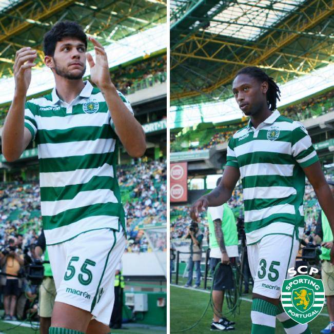 O Sporting CP continuará a fornecer os melhores talentos para a selecção A, Tobias e Ruben são apenas dois de muitos Fonte: Sporting CP