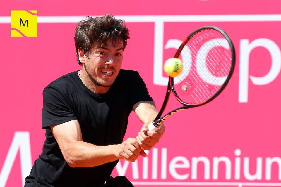 João Domingues esteve perto de assinar uma grande surpresa no primeiro dia de competição Fonte: Millennium Estoril Open