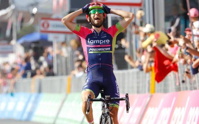Diego Ulissi leva para casa mais duas vitórias no Giro Fonte: telegraph.co.uk