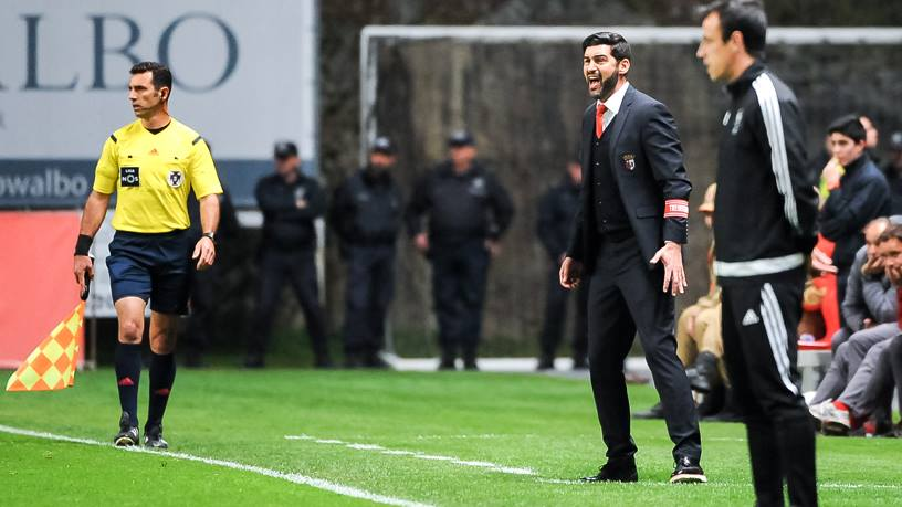 Paulo Fonseca, um dos responsáveis pelo sucesso bracarense Fonte: SC Braga