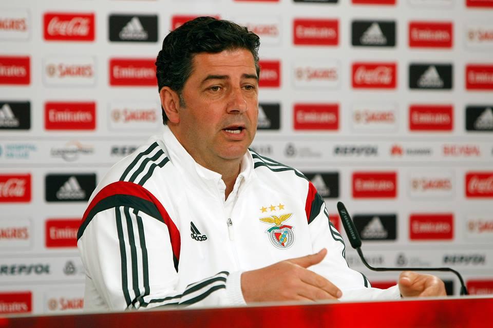 Rui Vitória conseguiu construir um percurso vitorioso no SL Benfica Fonte: SL Benfica