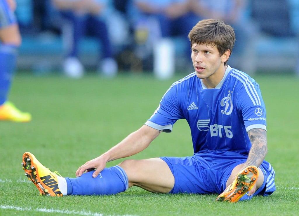 Os dias difíceis de Fyodor Smolov no FC Dynamo Moscovo Fonte: Live-Football.ru