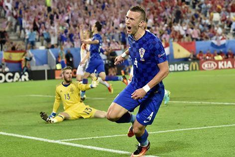 Um golo e uma assistência de Ivan Perisic Fonte: UEFA