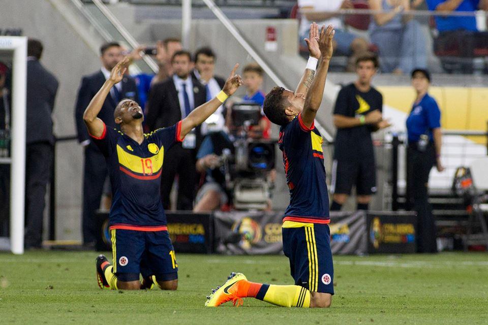 Os colombianos entraram com o pé direito Fonte: Copa América Centenário