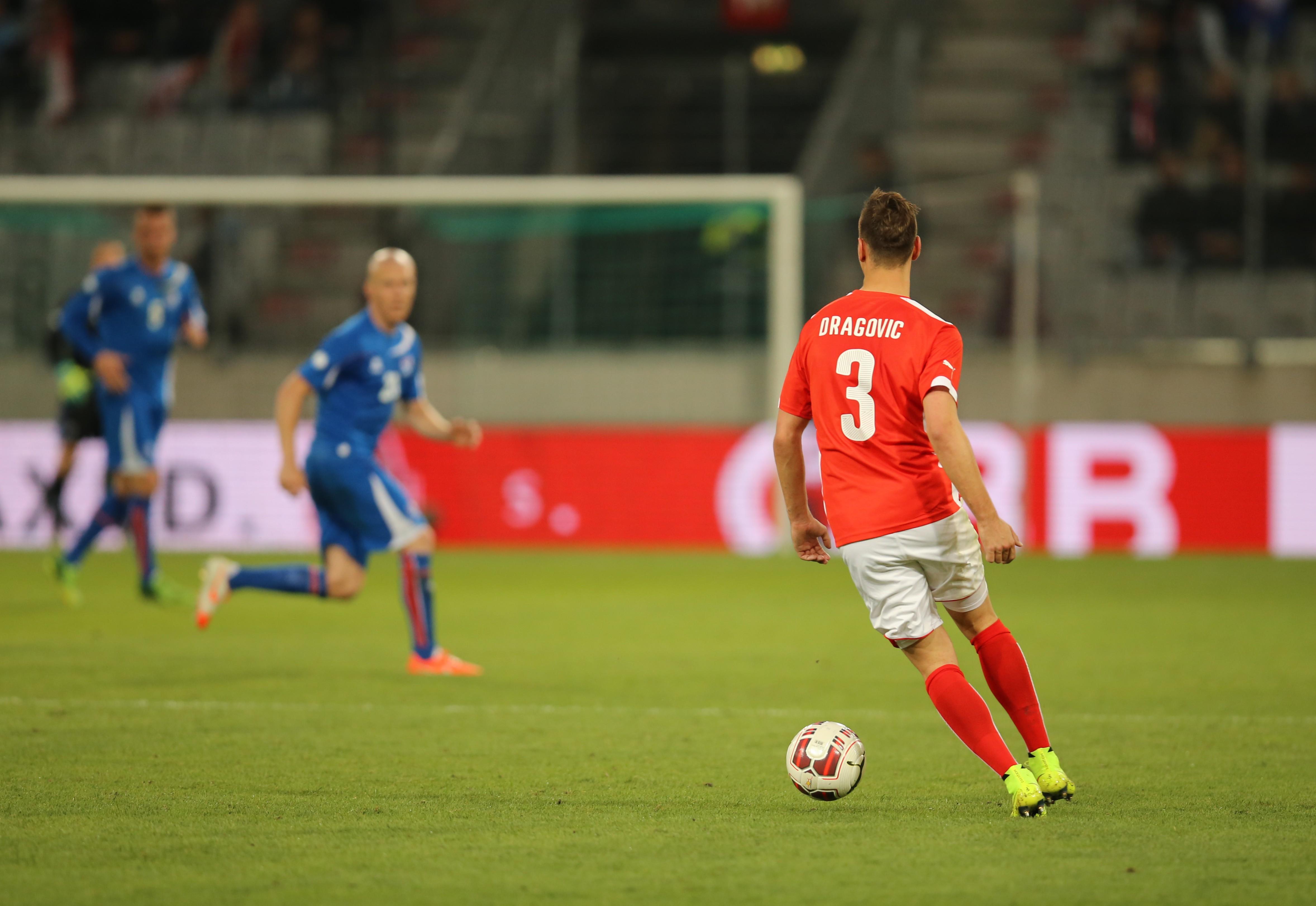 Aleksandar Dragović deverá chegar ao fim da fase de grupos com 50 internacionalização  Fonte: Tobias Klenze