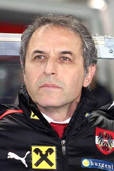Vinte anos depois, Marcel Koller volta a disputar um Europeu, desta vez como treinador  Fonte: Steindy