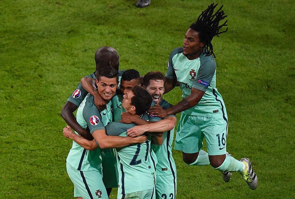 A união portuguesa fez a força neste Euro'2016 Fonte: UEFA