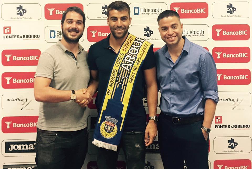 André Santos, um dos reforços do Arouca Fonte: FC Arouca