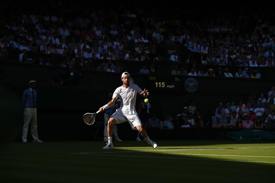 João Sousa acabou por ser eliminado Fonte: Wimbledon