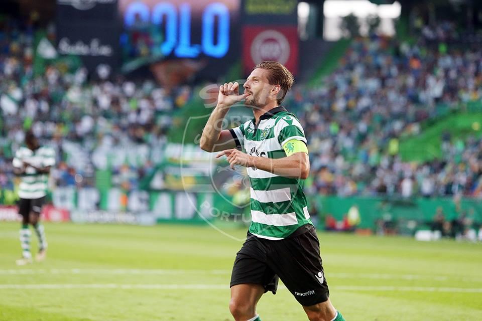 Que esta imagem se repita muitas mais vezes, Capitão Adrien Fonte: Sporting CP