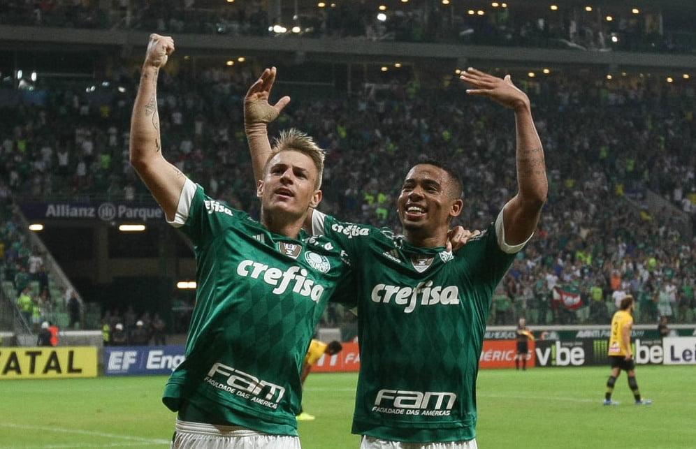 """O """"Verdão"""" está em grande forma. Fonte: futebolnoplaneta.com.br"""
