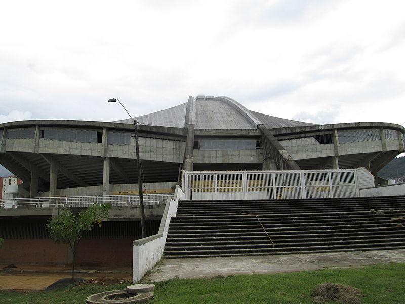 Este é o Coliseo El Pueblo, em Cali, onde Portugal joga 2 jogos da fase de grupos Foto de Gustavloz