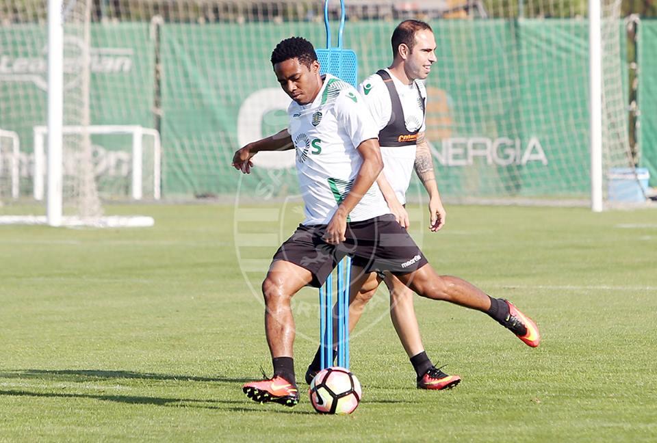 Elias tem de ganhar intensidade para ser opção válida para JJ Fonte: Sporting CP