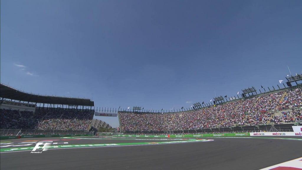 Muito público a ver o GP do México Fonte: F1