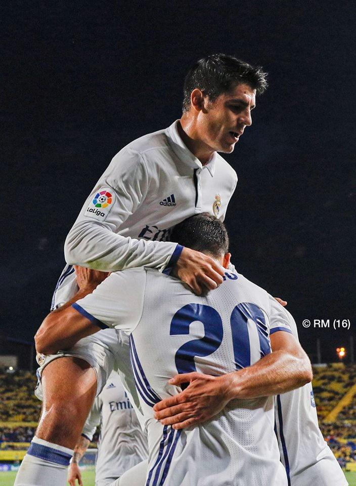 Asensio e Morata têm sido peças importantes no Real Madrid de Zidane Fonte: Real Madrid C.F.