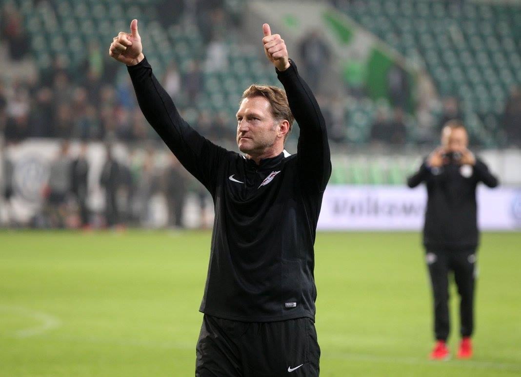 Há dedo de treinador (Hasenhuttl) na equipa-sensação da Bundesliga Fonte: RB Leipzig
