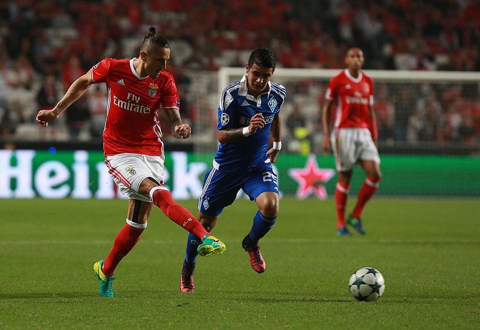 Fejsa tem sido um dos mais preponderantes jogadores esta temporada; Fonte: SL Benfica