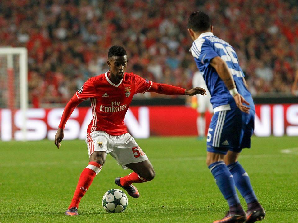 Nélson Semedo é uma das revelações do SL Benfica Fonte: SL Benfica