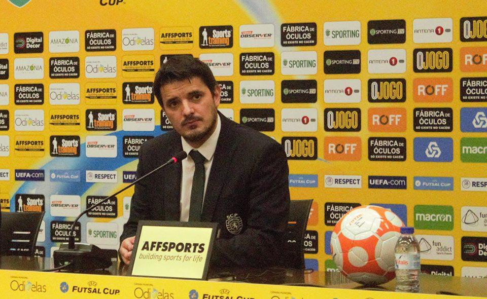 Nuno Dias foi uma das figuras deste fim-de-semana Fonte: Sporting CP