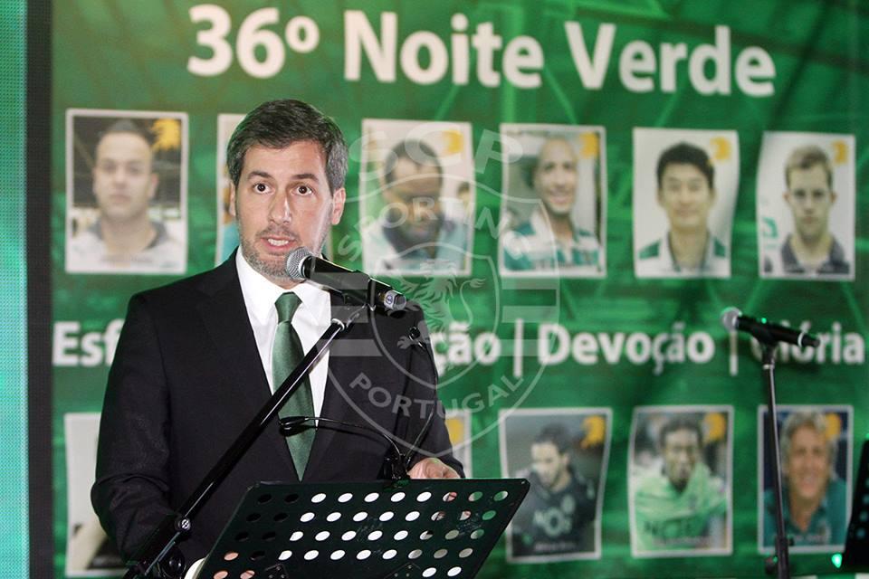 A estratégia de comunicação do Presidente leonino tem sido demasiado agressiva e exagerada. Deve por-se a jeito de eventuais ataques Fonte: Sporting CP