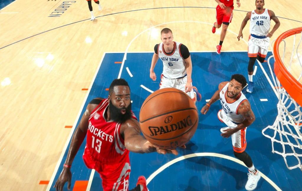 Harden tem estado em altas Fonte: NBA