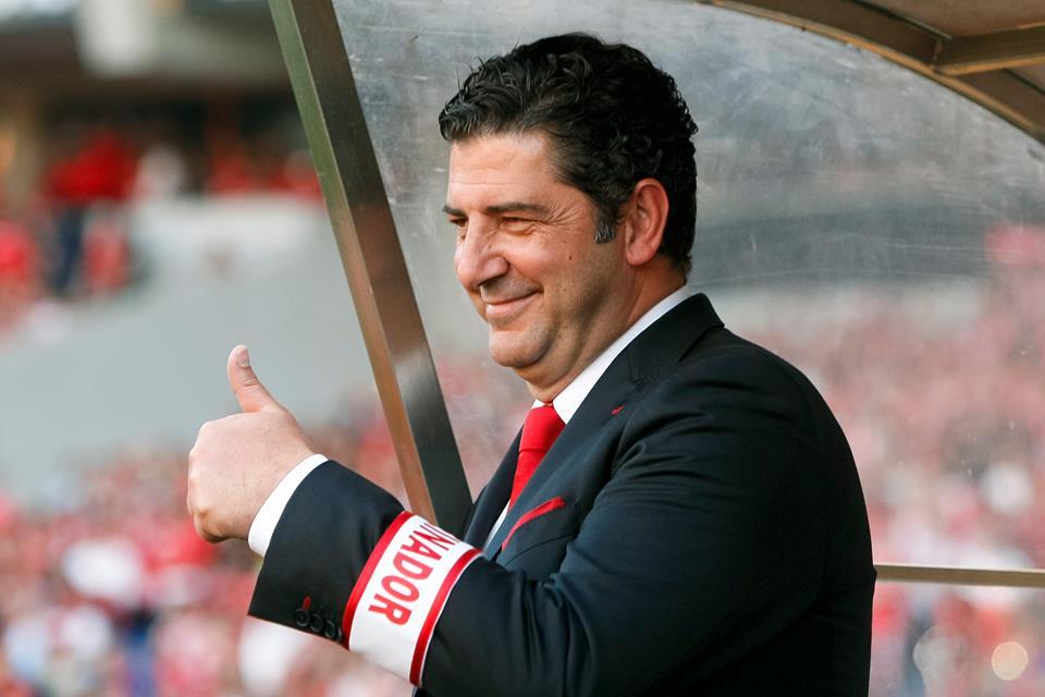 A contratação de Rui Vitória mostrou a sobriedade dos encarnados mesmo após troca de treinador Fonte: SL Benfica