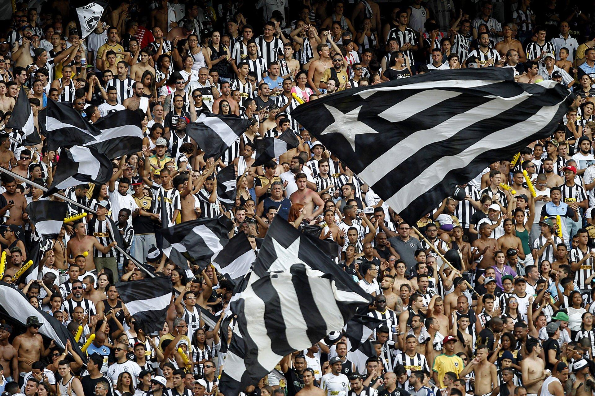 Botafogo com boas prespectivas de qualificação para a Libertadores Fonte: Vitor Silva, Esporte Interativo