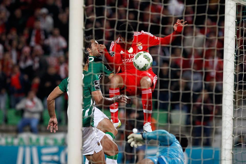 Jiménez foi decisivo para a conquista do título Fonte: SL Benfica