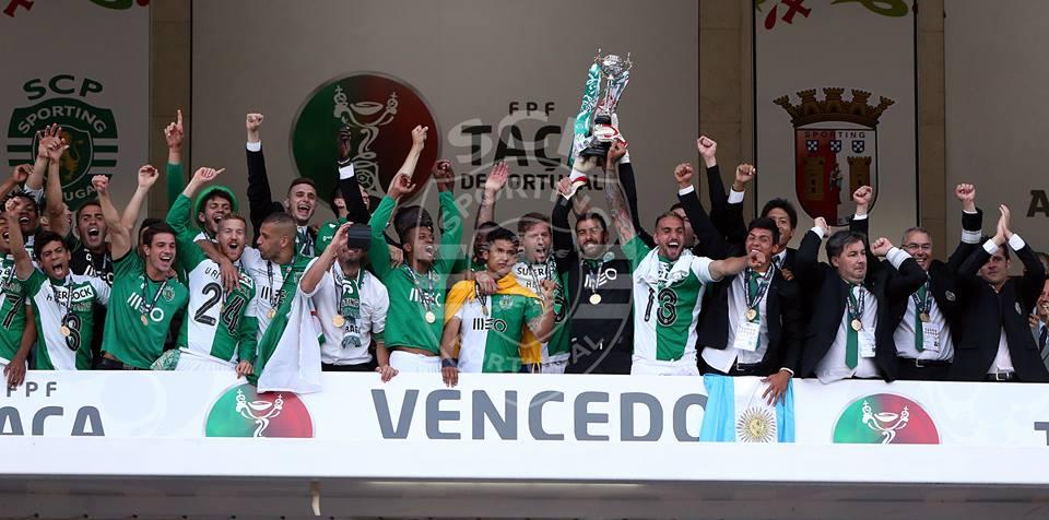 Rui Patrício e Adrien querem voltar a levantar a Taça no Jamor Fonte: Sporting CP